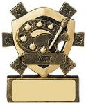 Art Mini Shield Trophy
